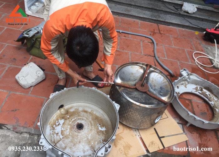 Sửa máy giặt tại nhà Hà Nội tốt nhất năm 2019