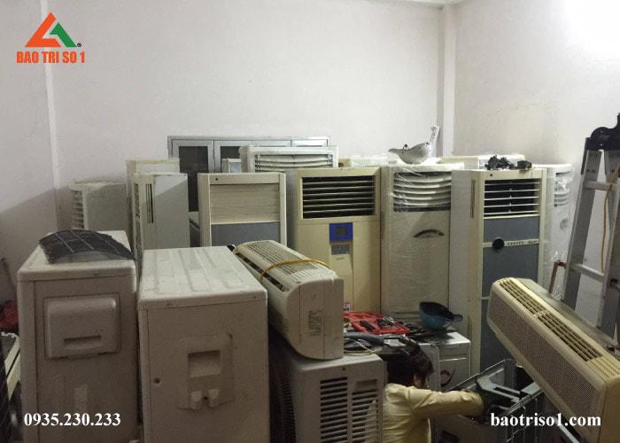 Mua bán tất cả các hãng điều hòa cũ tại nhà Hà Nội