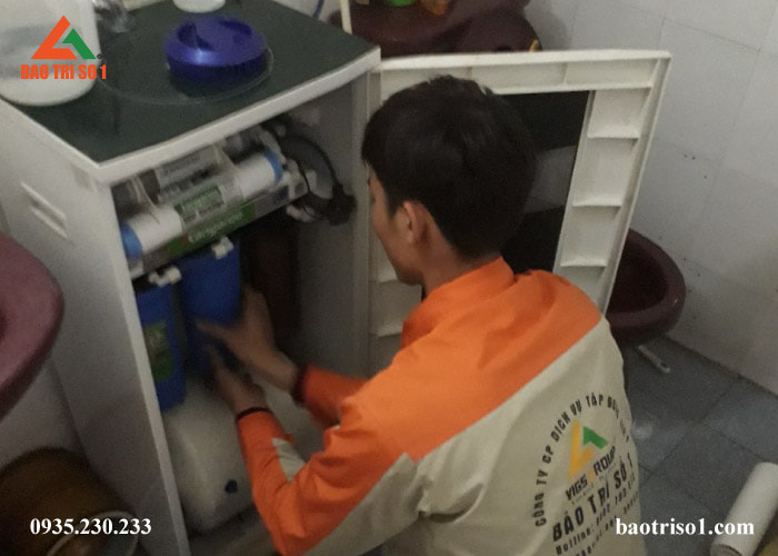 Bảo dưỡng máy lọc nước Kangaroo tại nhà Hà Nội