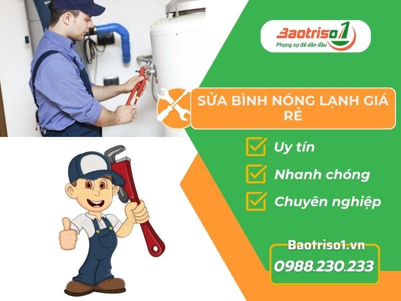 Sửa bình nóng lạnh giá rẻ tại nhà quận Nam Từ Liêm