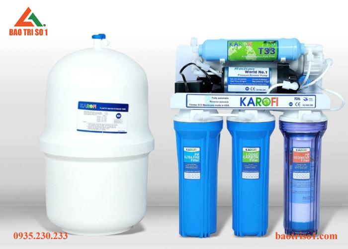 Bảo trì số 1 nhận thay lõi lọc nước Karofi ở tất cả các lõi