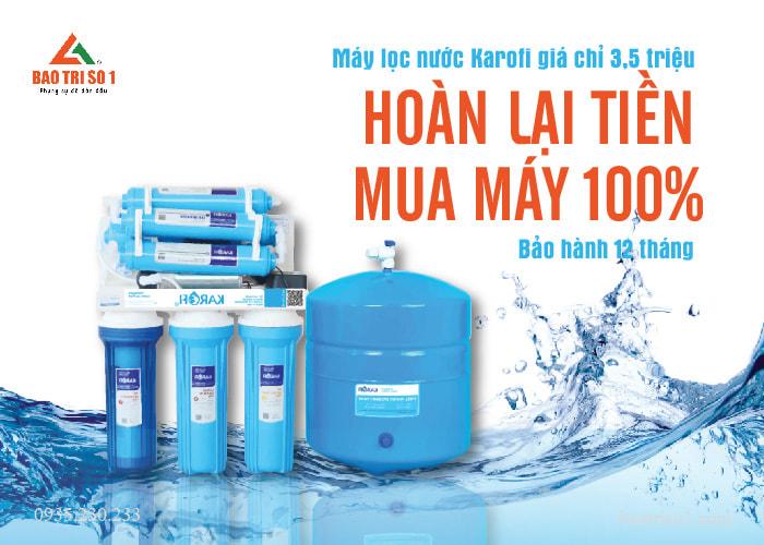 Hoan Tien Khi Mua May Loc Nuoc Karofi Ero80