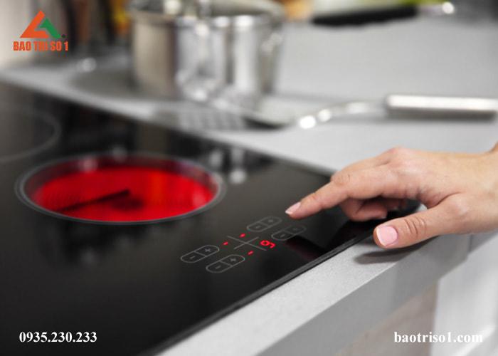 Bếp từ hoạt động bình thường sau khi sửa bếp hồng ngoại lỗi E3 E4 E5 E6