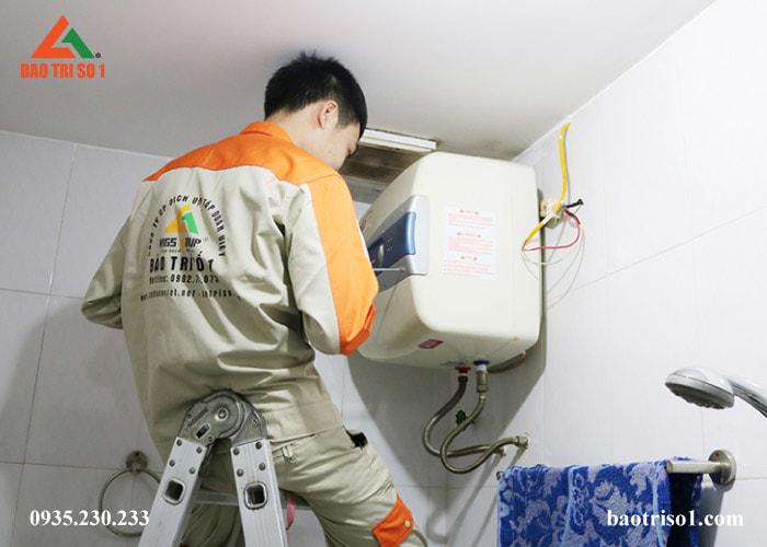 Sửa các lỗi bình nóng lạnh nhanh chóng