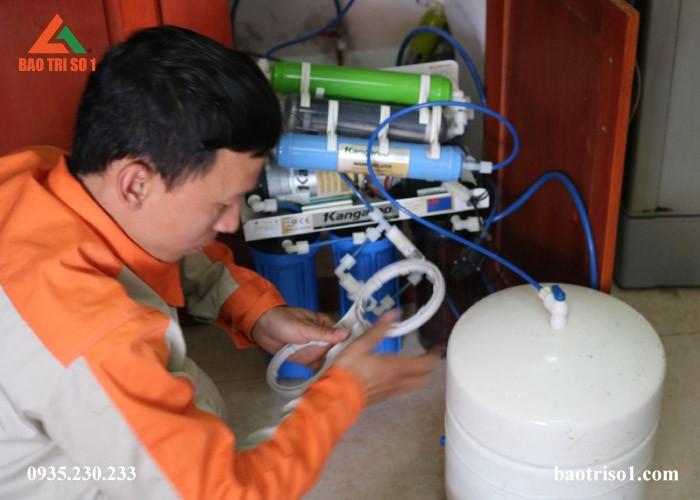 Sửa bình áp máy lọc nước