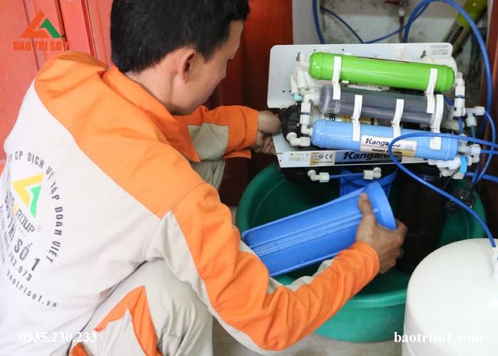 Sửa bình áp máy lọc nước Ro, Nano tại Hà Nội