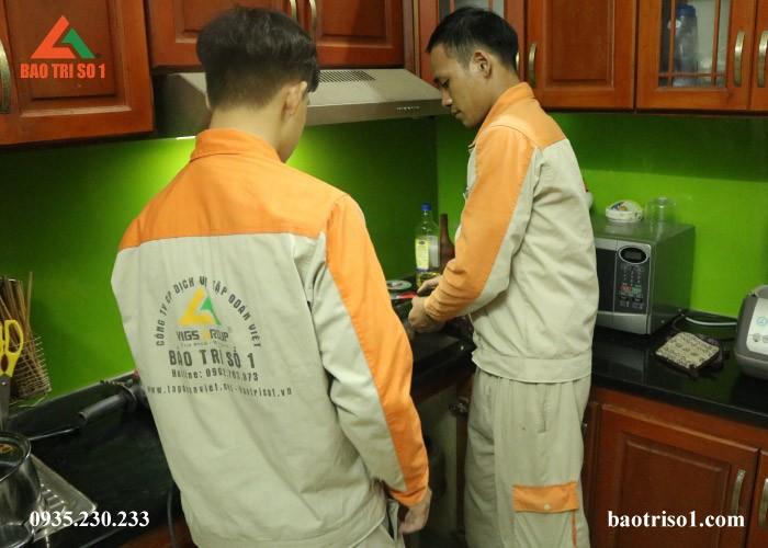 Bảo Trì Số 1 nhận sửa bếp từ nhanh chóng tại nhà