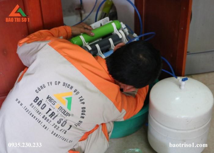 Sửa máy lọc nước tại quận Hà Đông có bảo hành