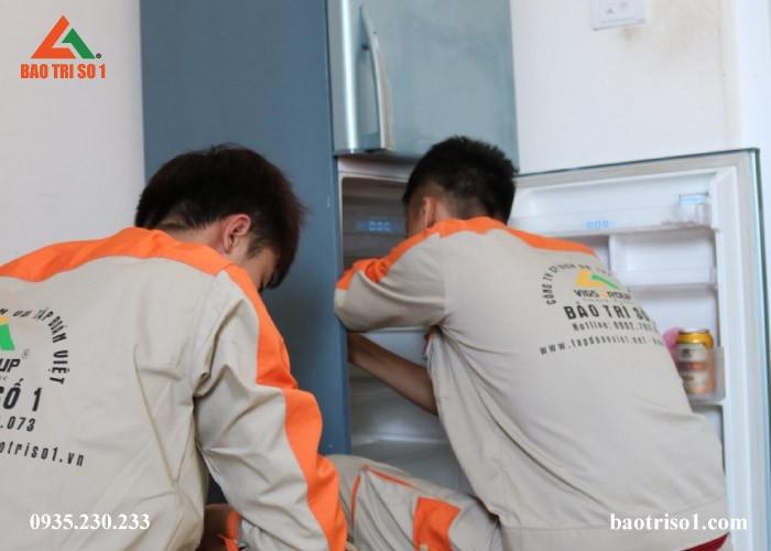 Tủ lạnh khách hàng quận Ba Đình ngăn mát không làm mát thức ăn, kỹ thuật kiểm tra tại nhà