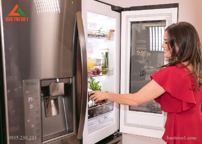 Vệ sinh tủ lạnh tại nhà