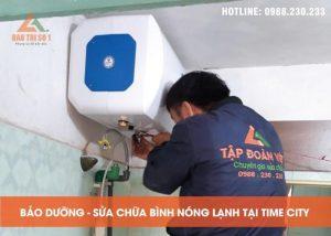 Sua Chua Bao Duong Binh Nong Lanh Tai Time City